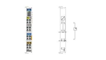 EL4031 | 1-channel analog output terminal -10…+10V, 12bit