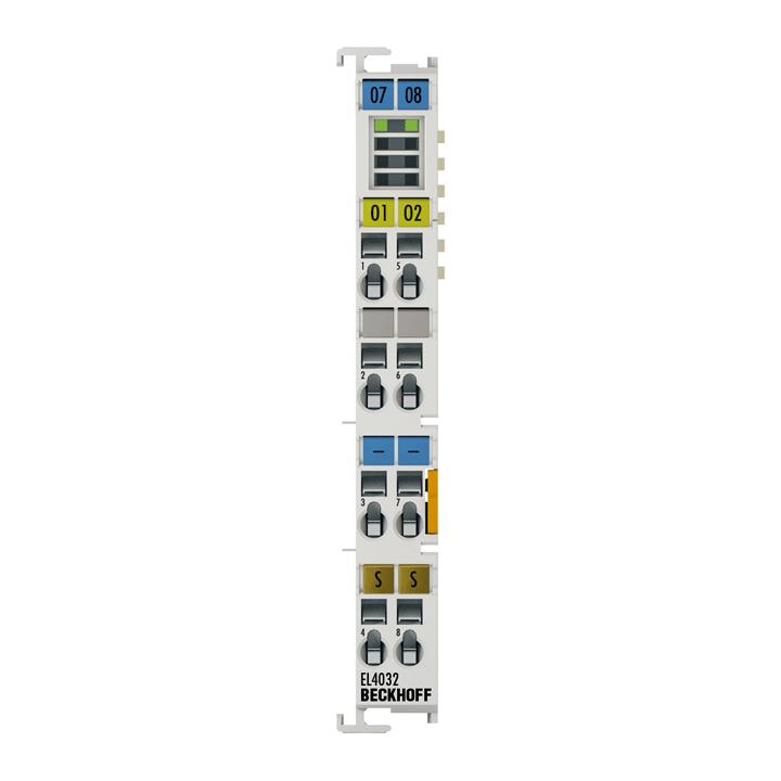 EL4032   2-Kanal-Analog-Ausgangsklemme -10…+10V, 12Bit