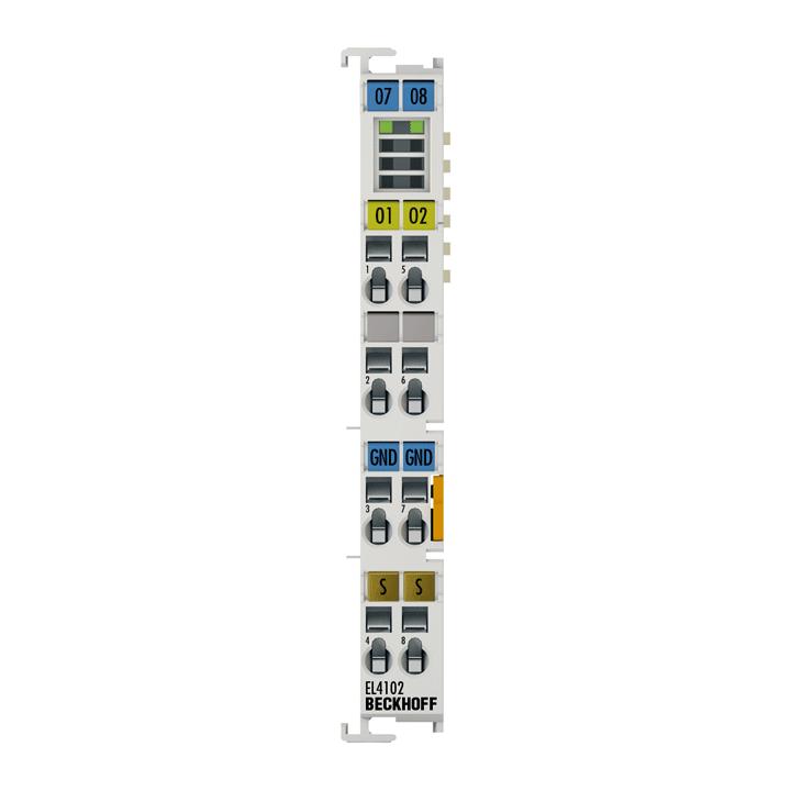EL4102 | 2-channel analog output terminal 0…10V, 16bit