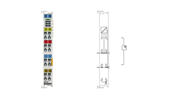 EL4122   2-channel analog output terminal 4…20mA, 16bit