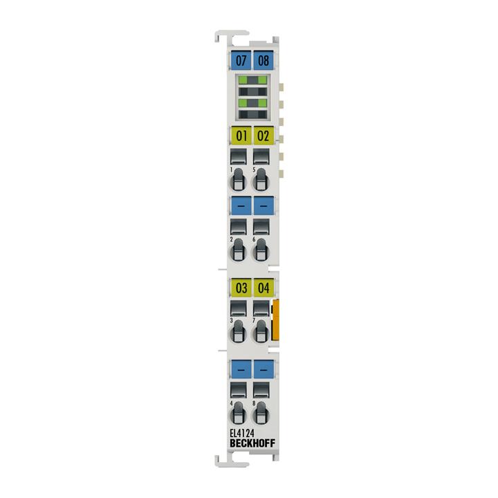 EL4124   4-channel analog output terminal 4…20mA, 16bit