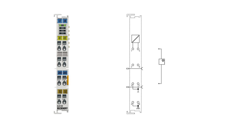 EL4132 | 2-Kanal-Analog-Ausgangsklemme -10…+10V, 16Bit