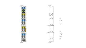 EL4134-0030 | 4-Kanal-Analog-Ausgangsklemme -10…+10V, 16Bit, mit externem Kalibrierzertifikat
