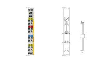 EL5001-0090 | EtherCAT Terminal, 1-channel encoder interface, SSI, TwinSAFESC