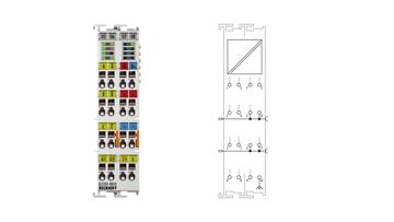 EL5101-0010 | EtherCAT Terminal, 1-channel encoder interface, incremental, 5VDC (DIFFRS422), 5MHz