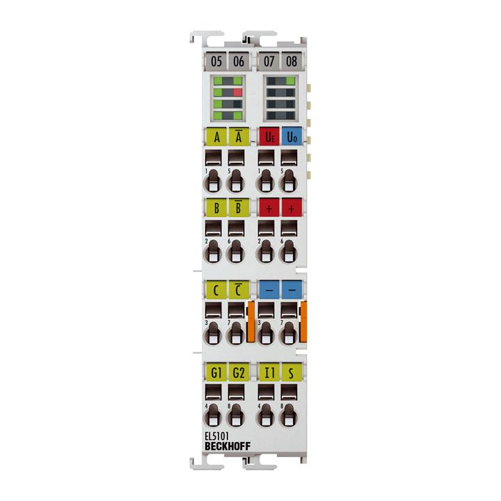 EL5101 | Incremental encoder interface, RS422, TTL, 1 MHz