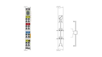 EL5151 | Inkremental-Encoder-Interface, 24VHTL, 100kHz