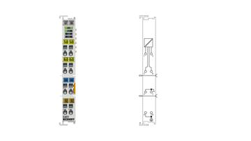 EL6021 | Serial interface RS422/RS485