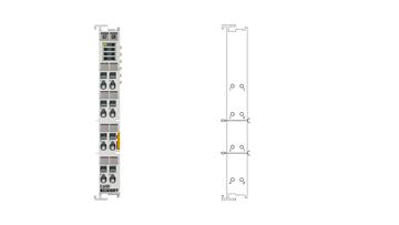 EL6080 | EtherCAT memory terminal 128kbyte