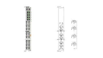 EL6224 | IO-Link-Klemme