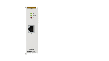 EL6601 | EtherCAT Terminal, 1-port communication interface, Ethernet switch port