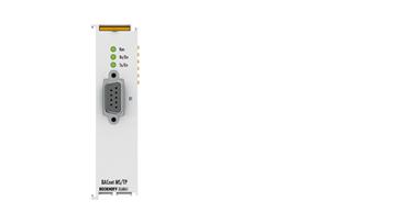 EL6861 | 1-channel BACnet MS/TP interface RS485, D-sub connection