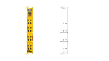 EL6930 | TwinSAFE/PROFIsafe logic and gateway terminal