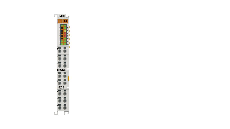 EL7031-0030 | EtherCAT Terminal, 1-channel motion interface, stepper motor, 24VDC, 2.8A