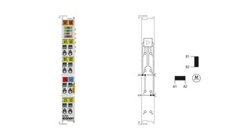 EL7031 | EtherCAT Terminal, 1-channel motion interface, stepper motor, 24VDC, 1.5A
