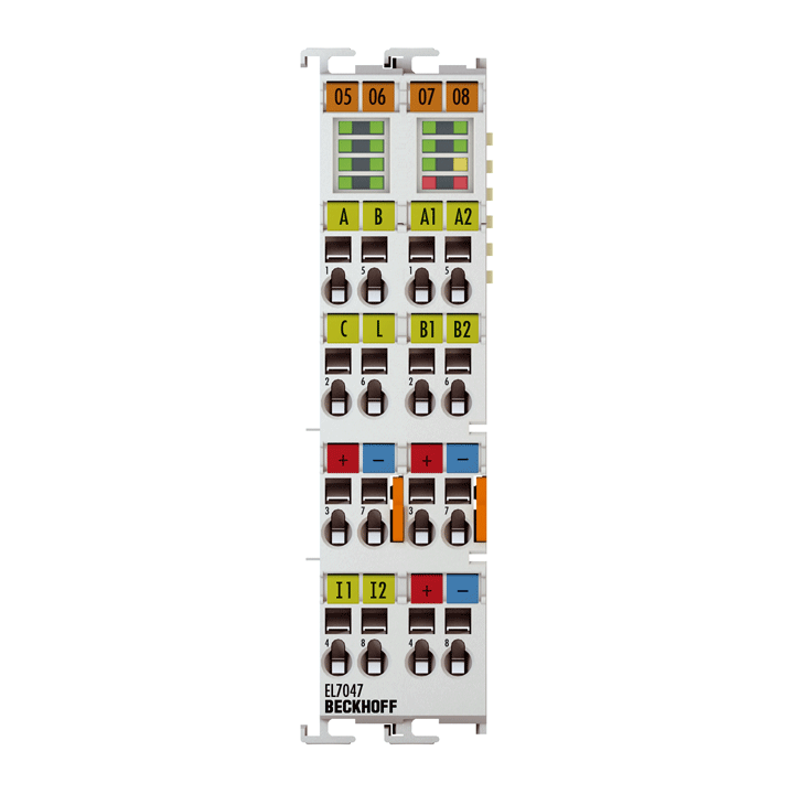 EL7047 | Stepper motor terminal 48VDC, 5A,   with incremental encoder, vector control