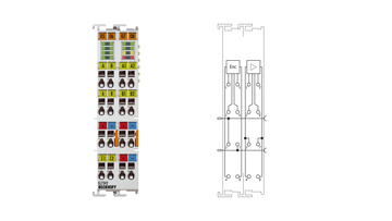 EL7342 | 2-channel DC motor terminal, 48VDC, 3.5A