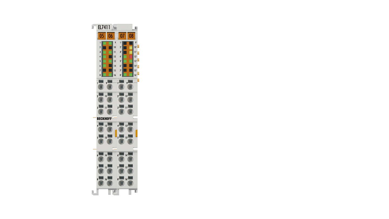 EL7411 | BLDC motor terminal with incremental encoder, 48VDC, 4.5A(Irms)