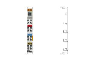 EL9110 | Potential supply terminal, 24VDC, with diagnostics