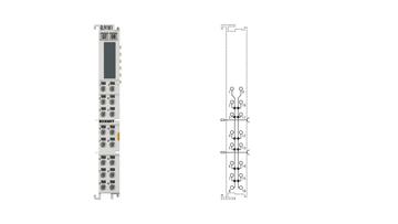 EL9181 | Potential distribution terminal, 8 x 2 potentials