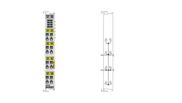 EL9187 | Potential distribution terminal, 8x 0VDC