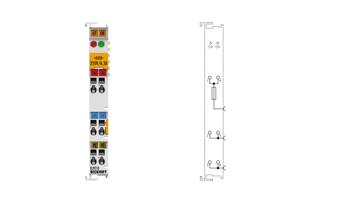 EL9210 | Potential supply terminal, 24VDC, with diagnostics and fuse