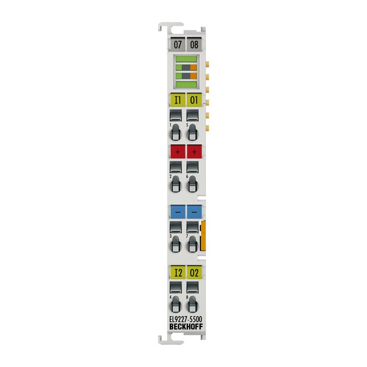 EL9227-xxxx | Überstromschutzklemme 24VDC, 2-Kanal, max. ∑10A, einstellbar, erweiterte Funktionen