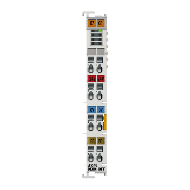 EL9540 | System terminal, surge filter and field supply
