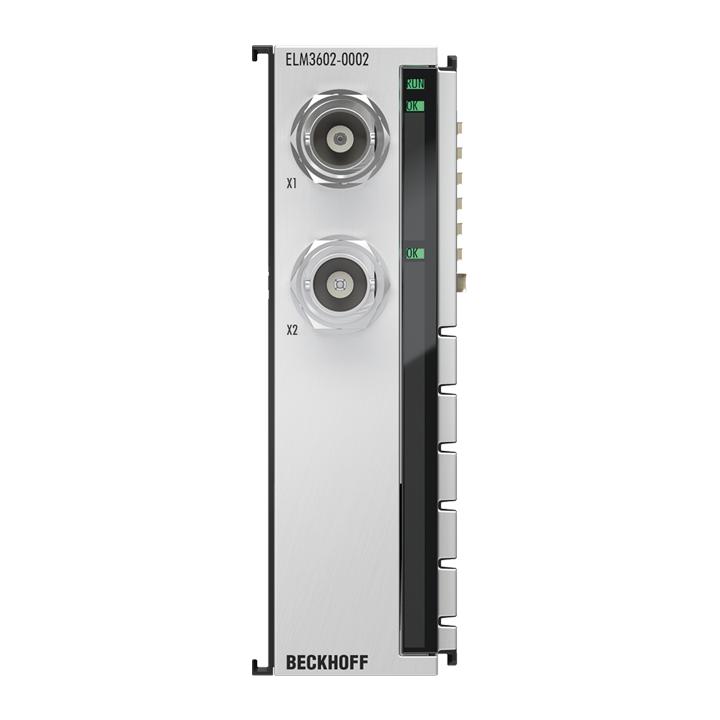 ELM3602-0002 | 2-Kanal-IEPE-Auswertung, 24Bit, 50kSps, BNC