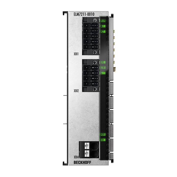 ELM7211-0010 | EtherCAT Terminal, 1-channel motion interface, servo motor, 48VDC, 4.5A, OCT