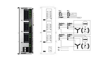 ELM7222-0010 | EtherCAT Terminal, 2-channel motion interface, servo motor, 48VDC, 8A, OCT