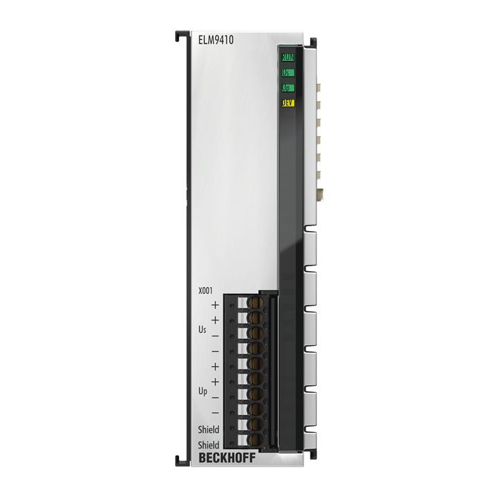 ELM9410 | Power supply terminal for refreshing the E-bus, with diagnostics