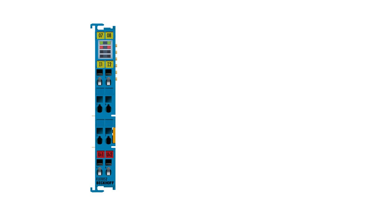ELX1052 | 2-channel digital input terminal NAMUR, Exi