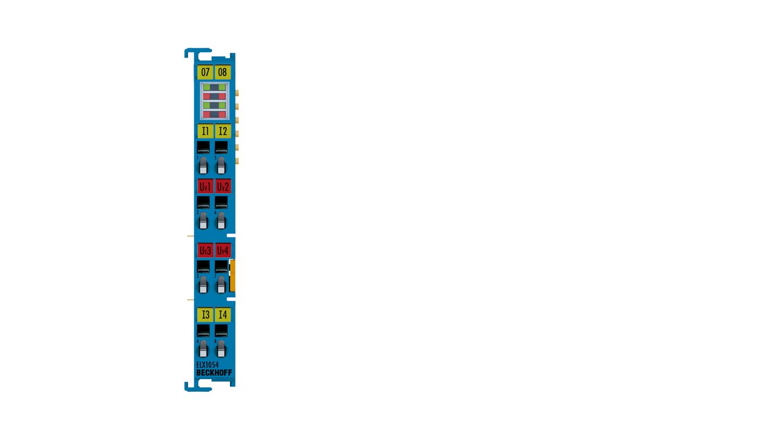 ELX1054 | 4-Kanal-Digital-Eingangsklemme NAMUR, Exi