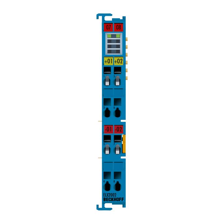 ELX2002 | 2-channel digital output terminal 24VDC, 45mA, Exi