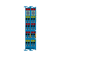 ELX2008 | 8-Kanal-Digital-Ausgangsklemme 24VDC, 30mA, Exi