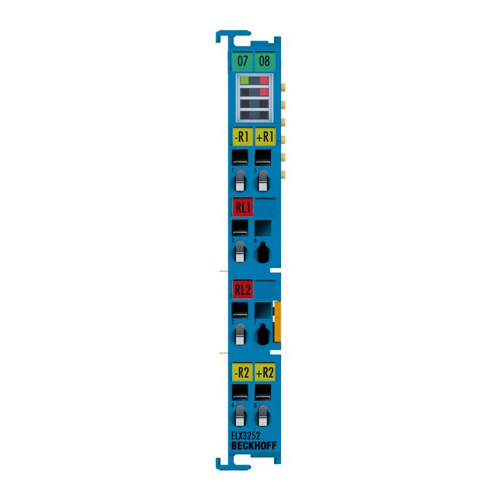 ELX3252 | 2-Kanal-Analog-Eingangsklemme Potentiometer, 16Bit, Exi