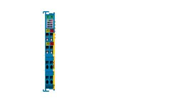 ELX3312-0090 | 2-channel analog input terminal thermocouple/mV measurement, 2-wire connection, 16bit, Exi, TwinSAFESC