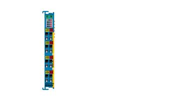 ELX3314-0090 | EtherCAT Terminal, 4-channel analog input, temperature, thermocouple, 16bit, Exi, TwinSAFESC