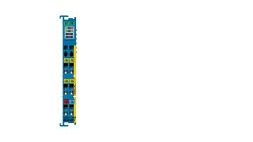 ELX3351-0090 | 1-Kanal-Eingangsklemme, Widerstandsbrücke (DMS), Exi, TwinSAFESC