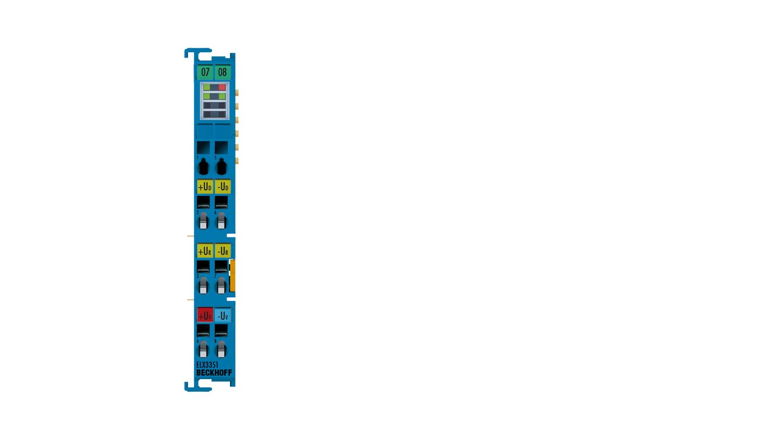 ELX3351 | 1-channel analog input terminal strain gauge, Exi