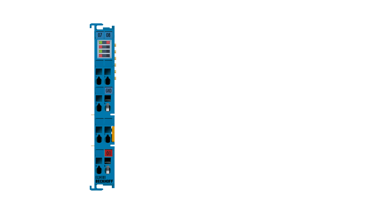 ELX4181 | 1-Kanal-Analog-Ausgangsklemme 0/4…20mA, single-ended, HART, 16Bit, Exi