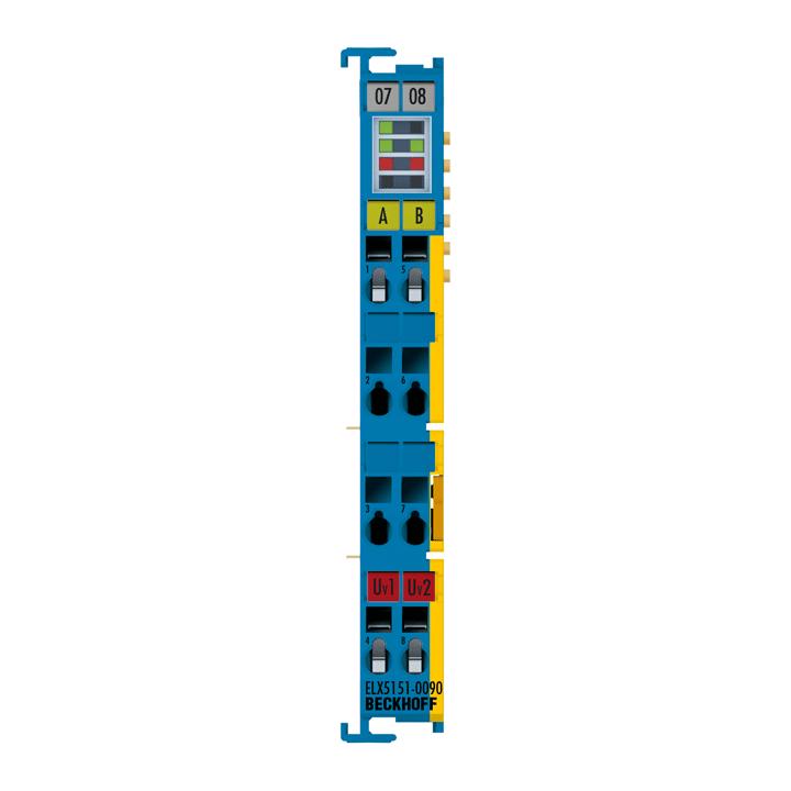 ELX5151-0090 | EtherCAT Terminal, 1-channel encoder interface, incremental, NAMUR, Exi, TwinSAFESC