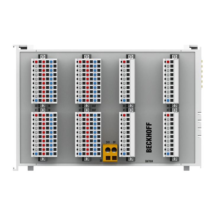 EM7004 | EtherCAT Terminal module, 4-channel motion interface, axis/servo drive, 24VDC