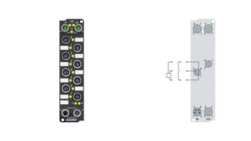 EP1008-0001   8-Kanal-Digital-Eingang 24 V DC, 3,0ms
