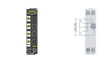 EP1008-0002 | 8-channel digital input 24VDC, 3.0ms