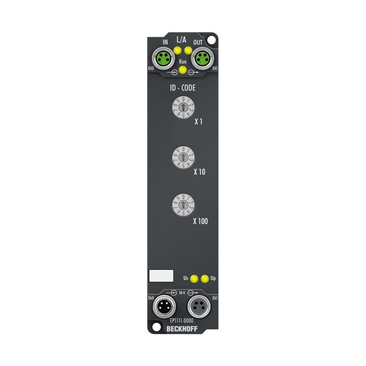 EP1111-0000   EtherCAT Box mit ID-Switch