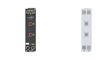 EP1312-0001 | 2-port EtherCATP junction