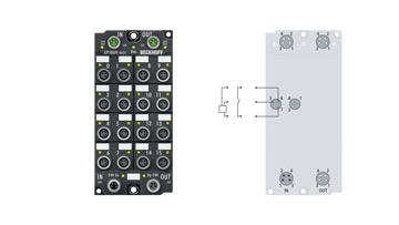 EP1809-0021   16-channel digital input 24 V DC, 3.0ms