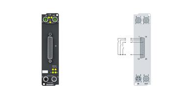 EP1816-0008 | 16-channel digital input 24 V DC
